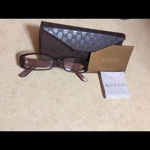 Brown Authentic Gucci frames